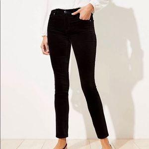 Loft | Velvet Curvy Skinny Jean